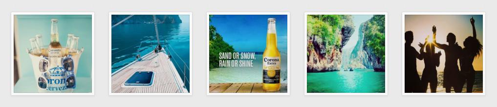 Corona on Instagram